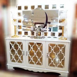 آینه کنسول چوبی جدید آنتوریوم