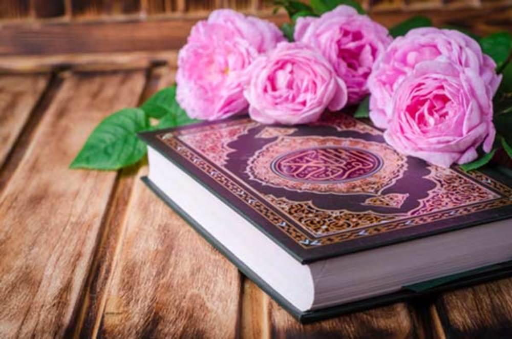 عروس -قرآن برای سفره عقد
