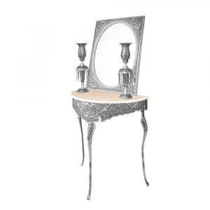 آینه و میز قلمزنی عروس