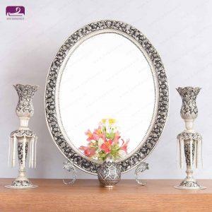 آینه شمعدان قلمزنی عروس