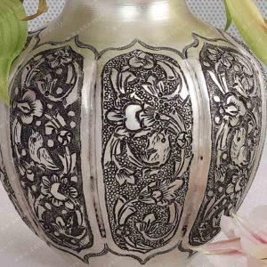 گلدان قلم زنی