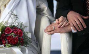 خرید آینه و شمعدان قلمزنی تاجدار عروس