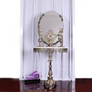 آینه کنسول بیضی ماهرو