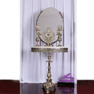 آینه شمعدان آلیاژ مهسان