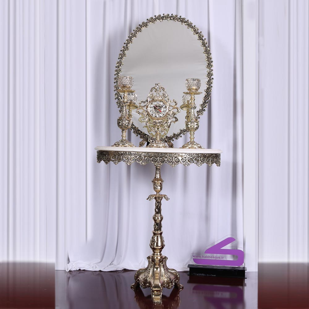 سرویس آینه شمعدان ماهدیس