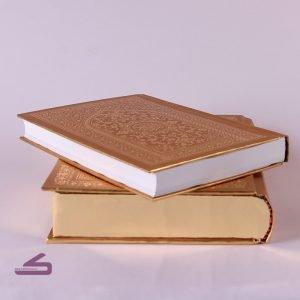 قاب و قرآن طلایی رنگ