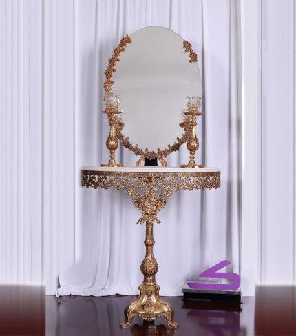 ست آینه شمعدان فورتیک ماهوار